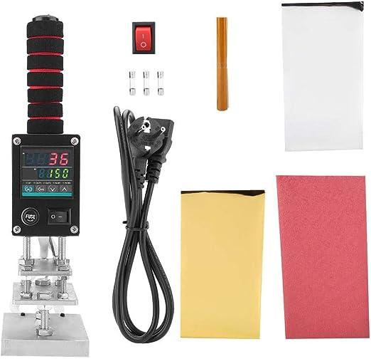 Impresora de cuero manual manual Estampado en caliente Impresoras ...