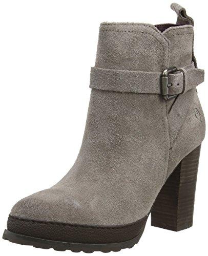 Marc O'Polo High Heel Bootie - botas de cuero mujer gris - Grau (706 light taupe)