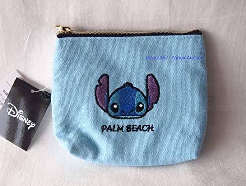 ディズニー スティッチ スクランプ ポケットティッシュケースポーチ 小物入れ リップ 刺繍の商品画像