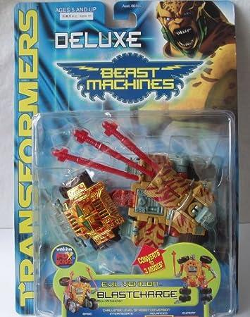 Transformers Beast Machines BLASTCHARGE Missile Part Lot