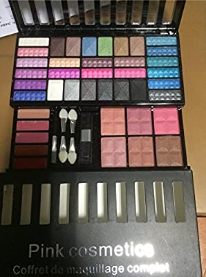 Estuche de maquillaje Pink Cosmetics: Amazon.es: Belleza
