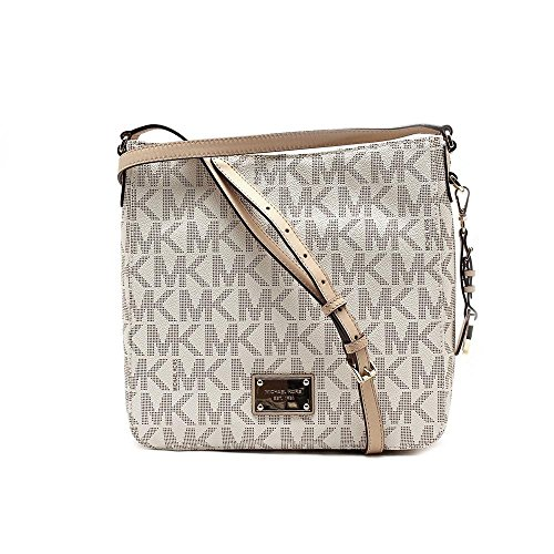 00de3a671bc2 MICHAEL Michael Kors Jet Set Travel Large Messenger Vanilla - Import ...