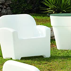 Panama Outdoor Arm Chair Colour: Red