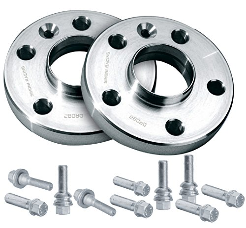 Simoni Racing DR016/B2 Wheel Spacers with Bolts, 17 mm