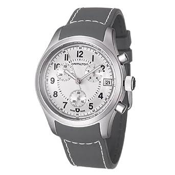 ec632491d Hamilton Khaki Chrono Men'S Watch H68582853: Amazon.co.uk: Watches
