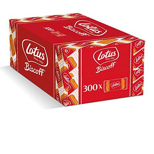 lotus biscoff biscotto al caramello, caffè biscotto biscottino impacchettati singolarmente 300 pz. b0051gcra4