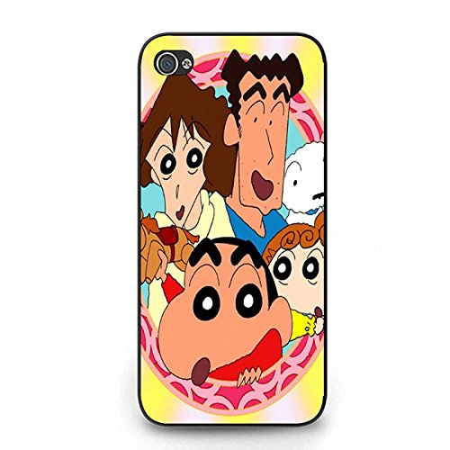 Iphone 5/5S Phone Case Crayon Shin-chan Cute Family Colorful Shell Cover