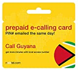 Prepaid Phone Card - Cheap International E-Calling Card $15 for Guyana with same day emailed PIN, no postage necessary