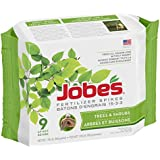 Jobe's 9 Count Trees and Shrubs Fertilizer Spikes