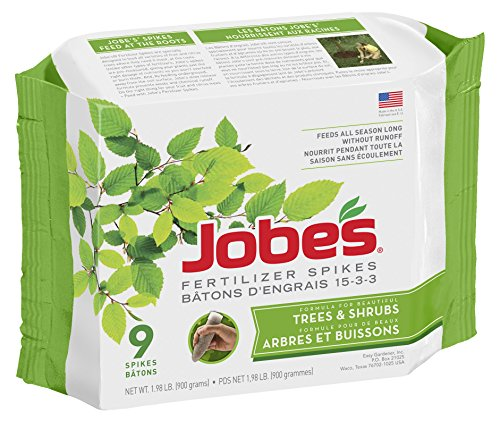 jobes-tree-and-shrub-fertilizer-spikes-9-pack