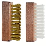 Ralyn Brass and Nylon Suede Brushes. 2-set.