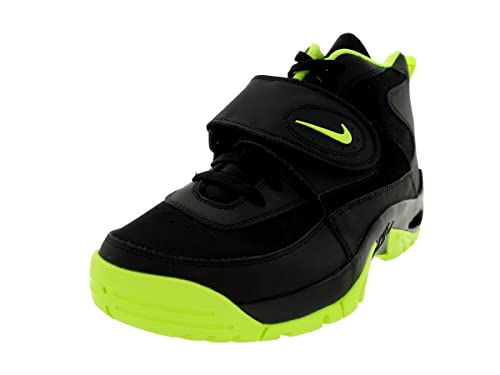 new products 2965b b21d5 Nike Air Mission Mens Cross Training Shoes 629467-101 Black   Volt 9 D(M)  US  Amazon.in  Shoes   Handbags
