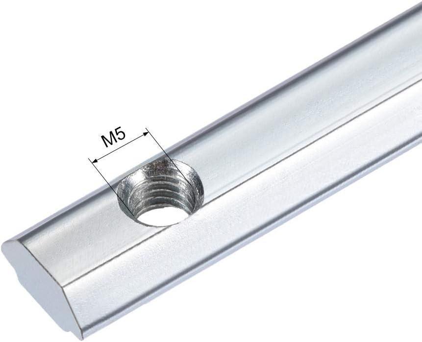 Gelenk Halter mit Schrauben f/ür Aluminium Extrusionsprofil Serie 2020-2 Stk sourcing map gerader Leitungsverbinder