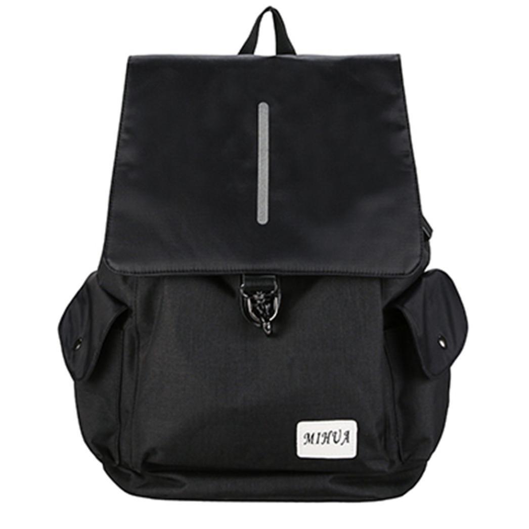 6397af3f8014 Amazon.com  Kingfansion Men and Women Backpack USB Charging School Travel  Work Leisure Climbing Laptop Bag Shoulder Bag Zipper Large Capacity Shoulder  Bag ...