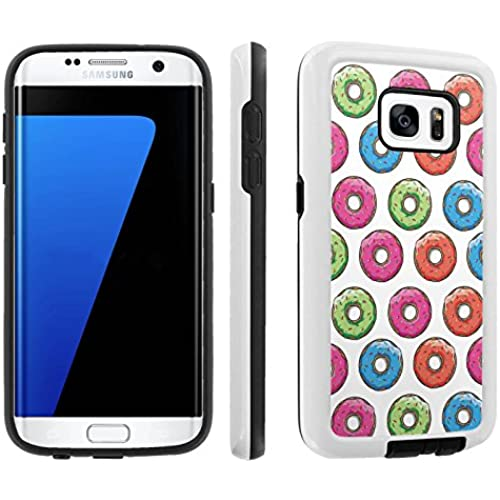 [Galaxy S7] [5.1 Screen] Armor Case [Skinguardz] [White/Black] Shock Absorbent Hybrid - [Donut] for Samsung Galaxy S7 / GS7 Sales