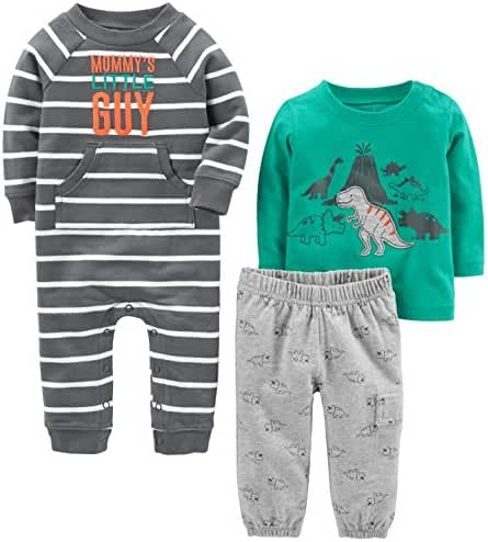 Simple Joys by Carter's Boys Baby 3-Piece Playwear Set
