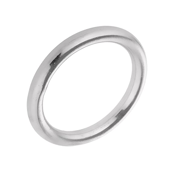 Fenteer Rundring aus hochwertigem Edelstahl H/ängematte zu h/ängen Ringe Metallring 8 x 70mm