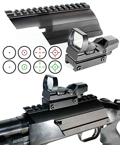 Maverick 88 Tactical Red Green Dot Sight Combo Kit, Single Rail Mount.