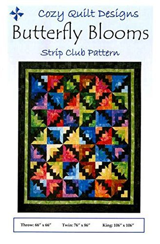 (Butterfly Blooms quilt pattern by Georgette Dell'Orco)