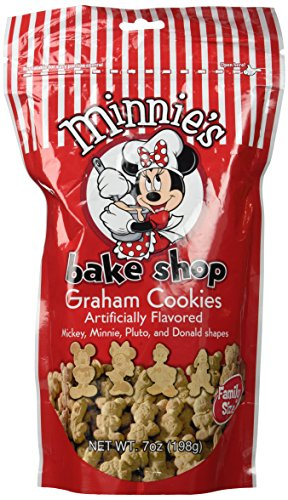 Disney Parks Minnie's Bake Shop Graham Cookies (7 Oz) (Mickey Mouse Shaped Crackers)