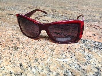 Amazon.com: Judith Leiber – Gafas de sol JL 1144 06, Ruby ...
