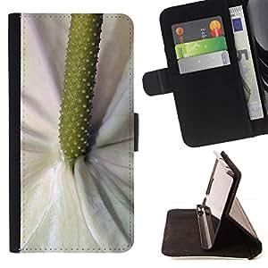 Momo Phone Case / Flip Funda de Cuero Case Cover - Fleur Tropical Nature - LG G4 Stylus H540