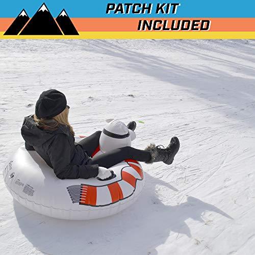 The Ultimate Sled /& Toboggan GoFloats Winter Snow Tube Unicorn