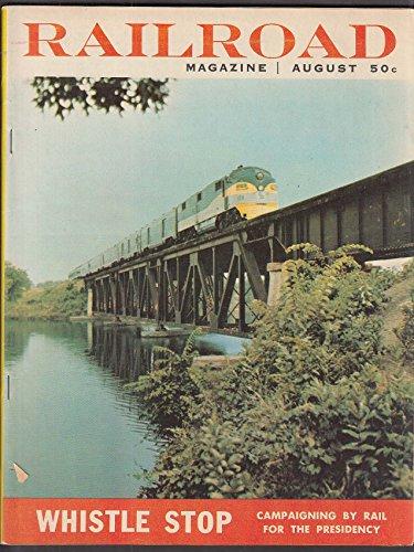 (RAILROAD Presidential Whistlestops N&W locomotives Trolley Town USA 8 1956)