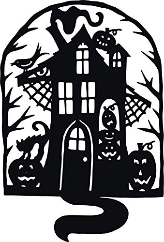 Family Connections Haunted House ~ Black ~ Outdoor