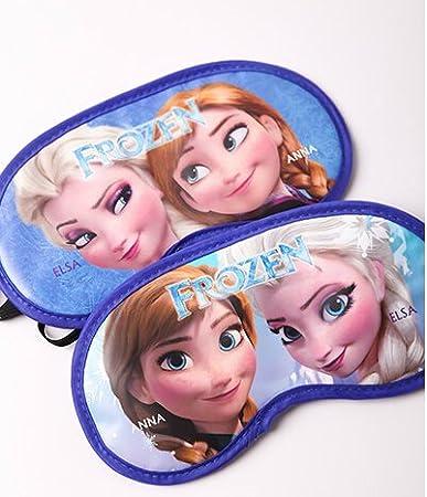 Amazon Com Pink Python Frozen Elsa Anna Sleep Mask Short Naps Long Flights Toys Games