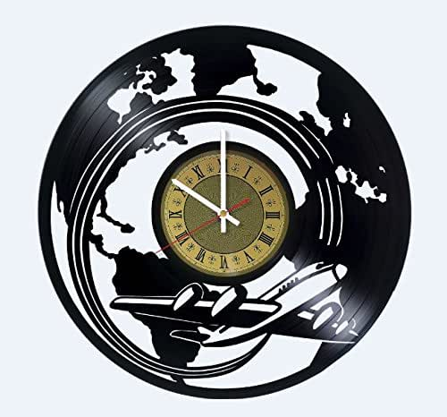 Amazon Com Airplane Wall Clock Vintage Airplane Clock