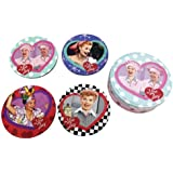 """Westland Giftware """"I Love Lucy"""" Coasters, 4-Inch Diameter, Set of 4"""