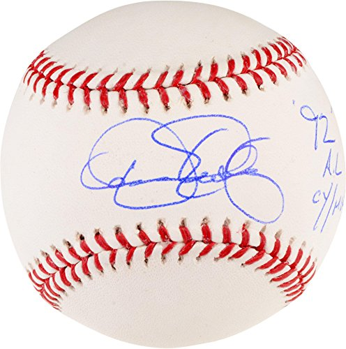 Dennis Eckersley Oakland Athletics Autographed Baseball with