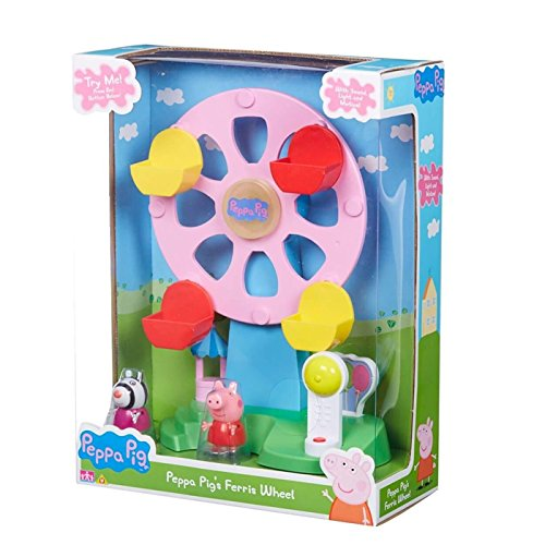 (Peppa Pig Ferris Wheel With Light & Sound Includes Peppa & Zoe Figures)