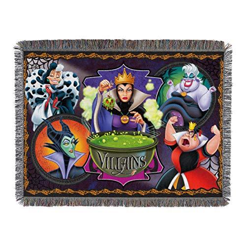 Disneys Villains Woven Tapestry Blanket product image
