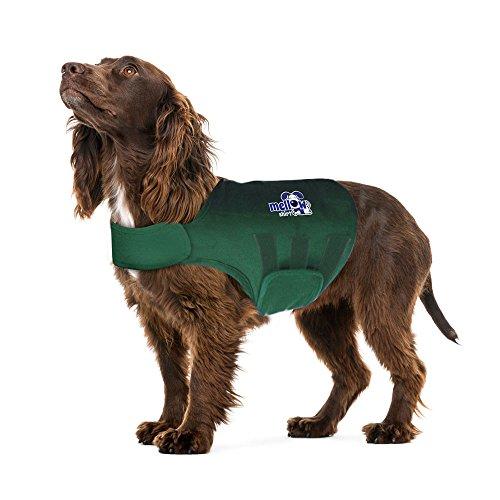 (Mellow Shirt Dog Anxiety Calming Wrap, Large, Cypress)