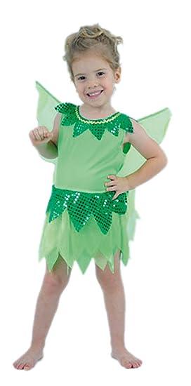 ec3a9414a El Carnaval Disfraz niña Campanilla Peque 2-4 años: Amazon.es: Juguetes y  juegos