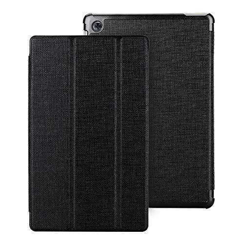 DDJ MediaPad M5 Lite Case 10.1 inch,Light Slim Folding Stand Shell with Auto Wake/Sleep Protective Flip Case Cover for Huawei MediaPad M5 Lite 10.1