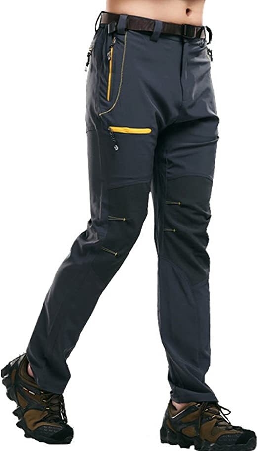 MAGCOMSEN - Pantalones de Verano para Hombre, Secado rápido ...