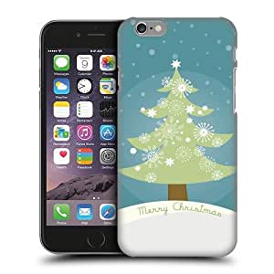Head Case Designs Tree Mix Christmas Protective Snap-on Hard Back Case Cover for Apple iPhone 6 4.7