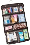 Lebogner Luxury 10 Pocket Hanging Travel Cosmetic Bag, Toiletry Travel Storage Organizer, Travel Accessories, Black