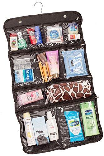 Lebogner Luxury 10 Pocket Hanging Travel Cosmetic Bag, Toiletry Travel Storage Organizer, Travel Acc