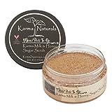 Karma Organic Sugar body scrub and lotion -cruelty-free exfoliating scrub for women (Scrub)