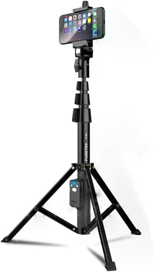 Selfie Stick & Tripod Fugetek, Integrated, Portable All-in-One $18.61