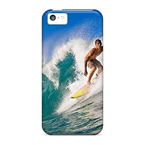 EpQ28444zITN Cases Covers Protector For Iphone 5c Surfer Sports Cases