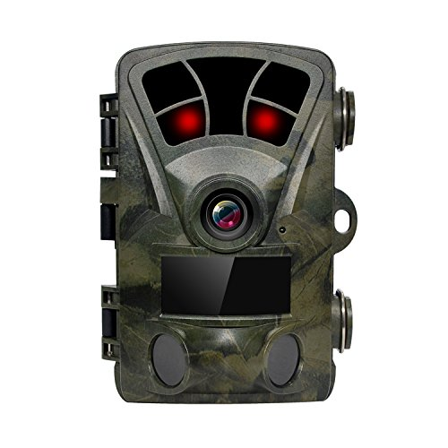 ERISAN Trail Hunting Camera, 16MP 1080P 120° Wide Angle with 2.4