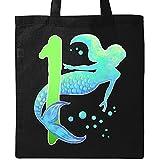 Inktastic - First Birthday Mermaid Tote Bag Black 2eff3