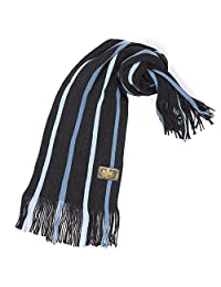 Rio Terra Men's Knit Winter Scarf - Blue