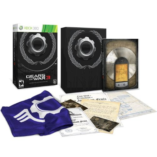 Collectors' pack promotion – gears of war 3 | theodmgroup blog.