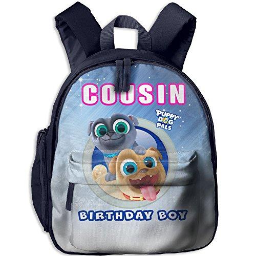 Ssuac Yi66 Puppy Dog Lovely Pals Unisex Kids Popular Children Backpack School Travel Shoulder Bags (Disney 4-in-1 Rock)